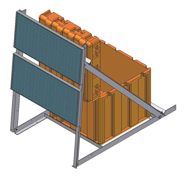 Solar Panel Angle: Solar Panel Mounts Drawings